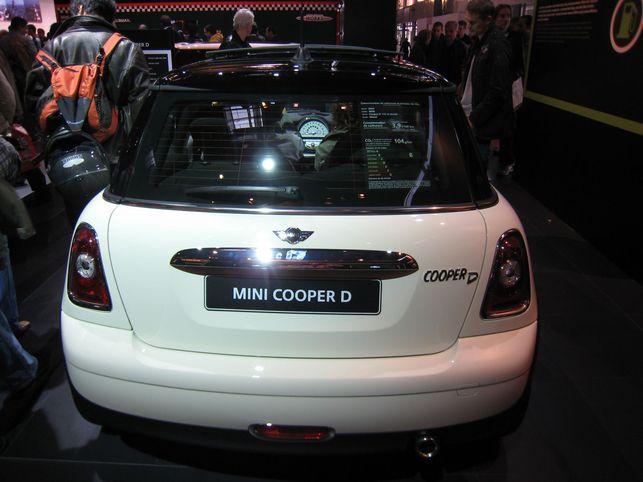 Stand Mini : les Cooper D et Cooper D Clubman