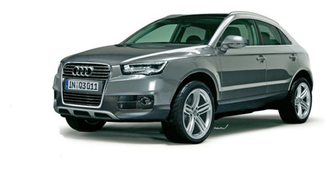le futur audi q3 sur la route. Black Bedroom Furniture Sets. Home Design Ideas