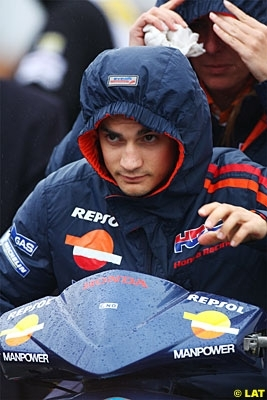 Moto GP - Pays Bas D.2: Pedrosa sous la pluie