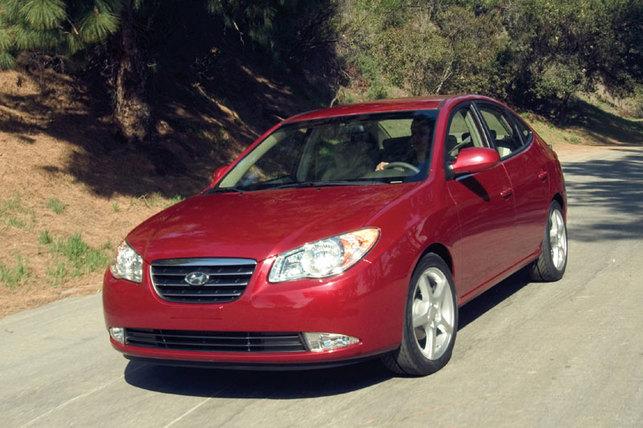 La Hyundai Elantra hybride lancée en 2009
