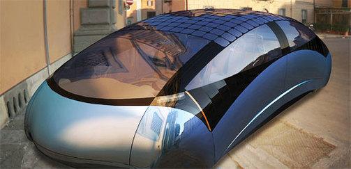 Une voiture qui carbure à l'énergie solaire