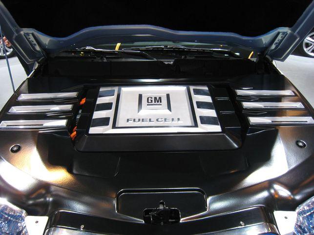 Le prototype GM HydroGen4 ? 320 kilomètres d'autonomie