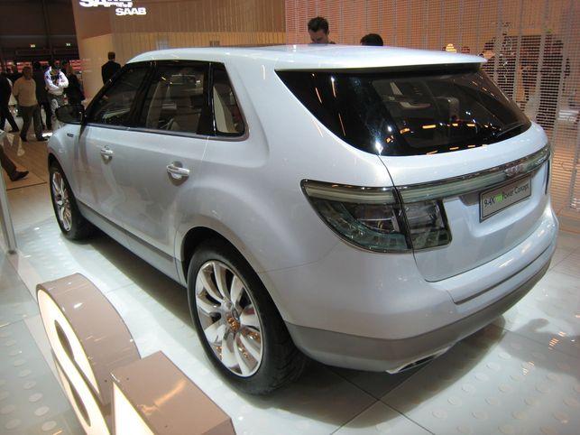 Le Saab 9-4X BioPower Concept au biocarburant