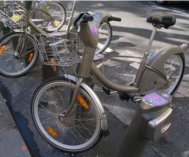 Le vélo Vélib' exposé dans deux musées !