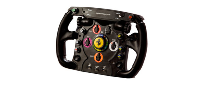 Thrustmaster Ferrari F1 Wheel et TH8 RS : essai complet