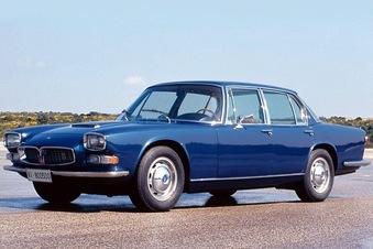 De la première Quattroporte en 1963...