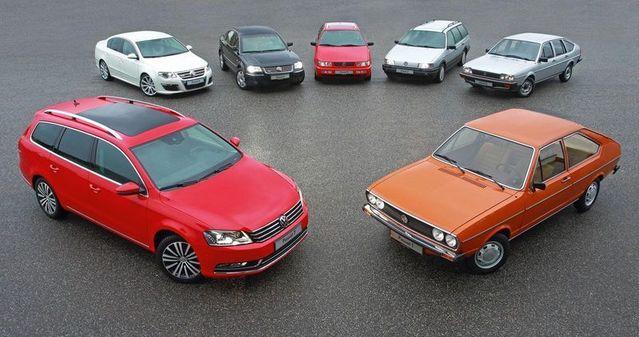 Pour fêter les 40 ans, Volkswagen avait réuni les sept premières générations. La huitième est née en 2014.