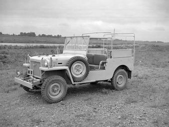 Des modèles FJ et BJ de 1951...