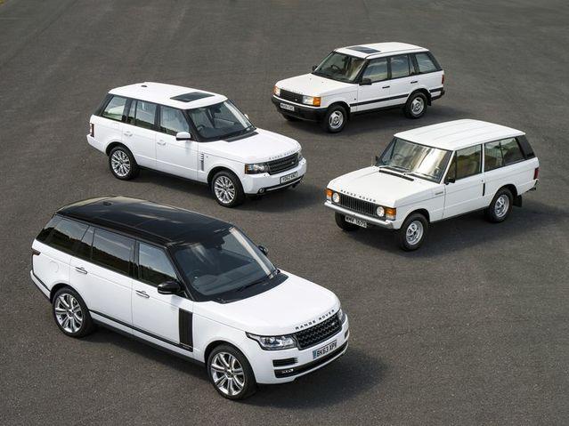 Le Range Rover est désormais chef de famille, avec l'Evoque, le Velar et le Sport.