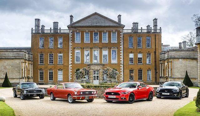 La Mustang n'hésite pas à faire évoluer son design au fil des générations.