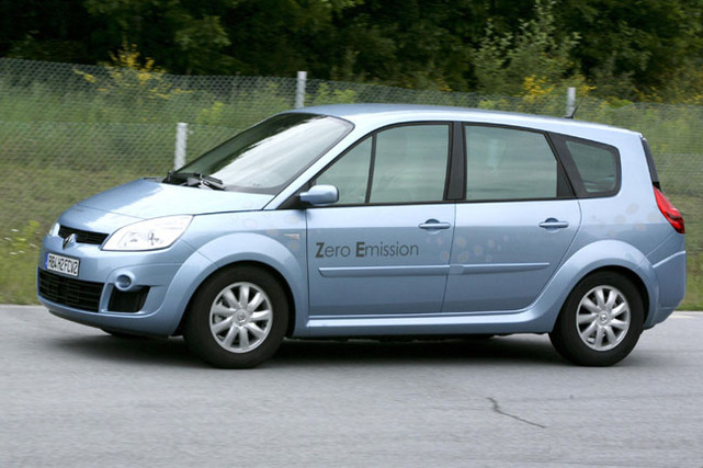 Tout savoir sur le prototype Renault Scenic ZEV H2