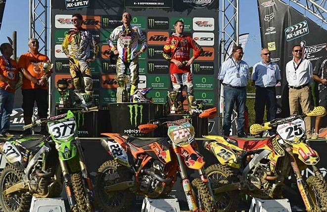 Motocross  GP d'Europe : Antonio Cairoli, un 6ème titre plein de panache