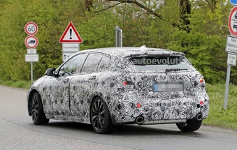 Scoop : la BMW Série 1 traction prend la route