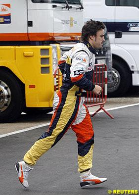 """Formule 1 - Alonso: """"Je ne continuerai pas à me battre pour juste espérer entrer dans le Q.3"""""""