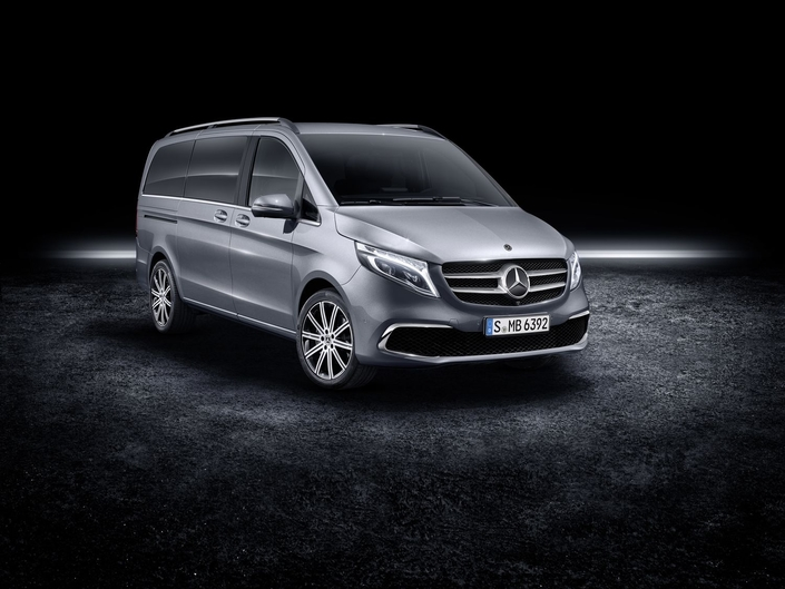 Salon de Genève 2019 - Mercedes Classe V: petit restylage