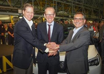 Opel célèbre le lancement du crossover Crossland X