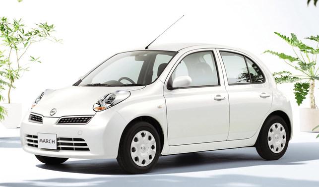 Nissan compense les rejets de CO2 d'une March Collet achetée