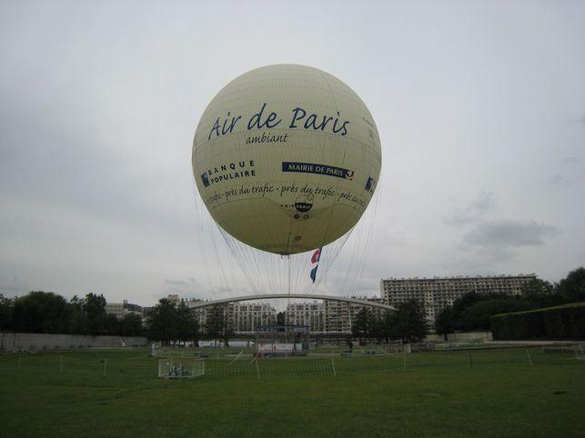 Reportage : le Ballon Air de Paris s'envoie en l'air !
