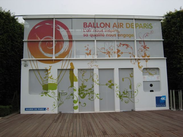 Reportage : le Ballon Air de Paris s'envoie en l'air !