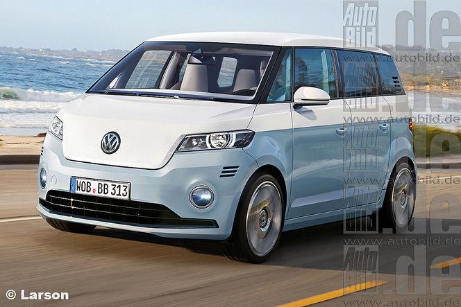 """Volkswagen prépare un héritier du fameux """"Combi"""", le Bulli!"""