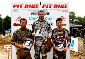 Pit Bike 2011, championnat de France : round 4, Arcey côté 10Pro.