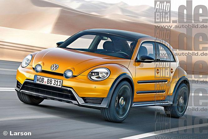 Future Volkswagen Coccinelle: une famille à part entière!