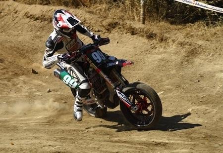 Supermotard, championnat de France 2012: Lucas Berthoux titré en S3