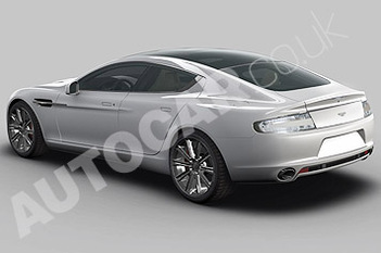 Genève 2009 : Aston Martin Rapide en photos officielles
