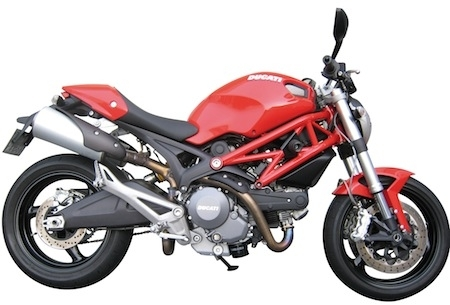 Chaft: tampon pare-carter pour Ducati Monster.