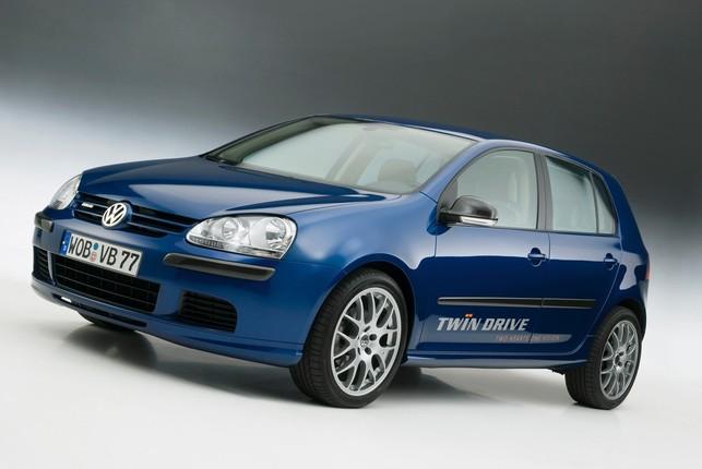 La Volkswagen Golf Twin Drive ? Un prototype hybride diesel !