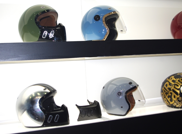 Salon de Milan 2017 en direct: Qwart Helmets