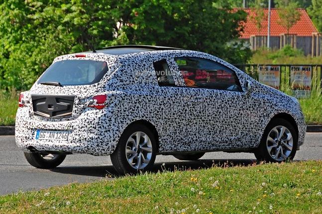 Future Opel Corsa : la 3 portes également surprise