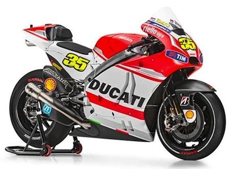Akrapovic et Ducati: ensemble pour la saison MotoGP'14