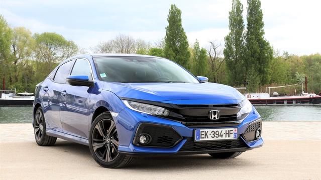 Essai - Honda Civic 1.0 129 ch : votera-t-on pour elle ?