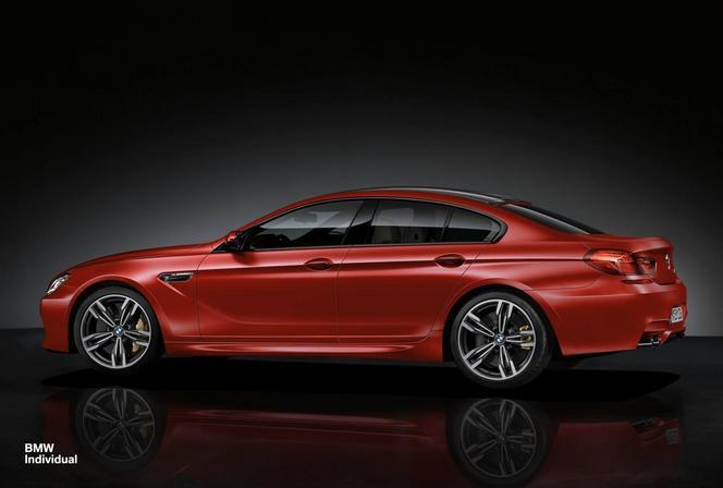 Le département Individual de BMW s'attaque à la BMW M6 Gran Coupé