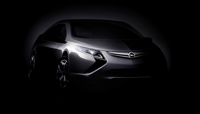 Salon de Genève 2009 : le véhicule électrique Opel Ampera
