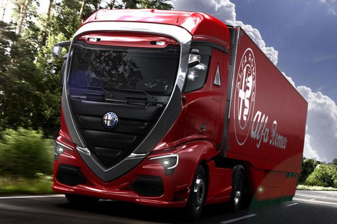 Alfa Romeo: dis camion!