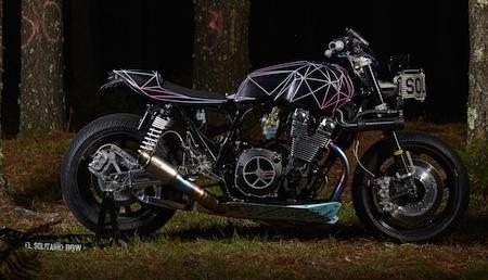 Yamaha XJR1300 : le « grand méchant loup » du programme Yard Built