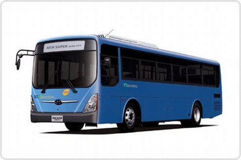 Hyundai fournira 7748 bus écolos d'ici 2018 !