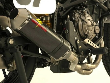 AIM Expo 2015: Yamaha DT-07... pour le flat track