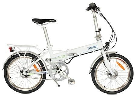 Michelin présente un vélo à assistance électrique, pliable!