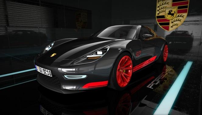 (Design) Un projet de Porsche GT 2+2 prénommé 921 Vision
