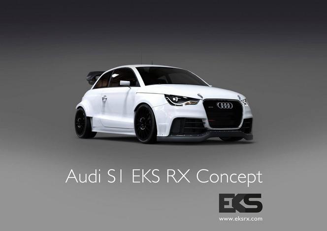 Une Audi S1 de 600 ch pour le championnat de Rallycross
