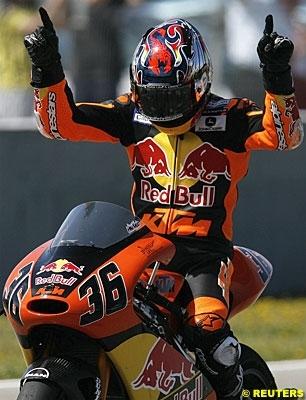 Moto GP - Ducati: Kallio dans la ligne de mire des rouges