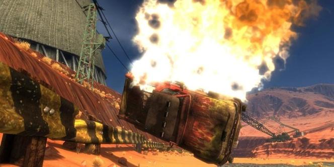 Harms Way : un jeu de voiture gratuit sur Xbox Live