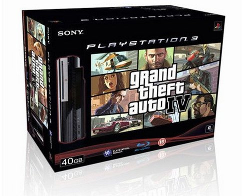 Pack PS3 + GTA 4 : Sony impose son style