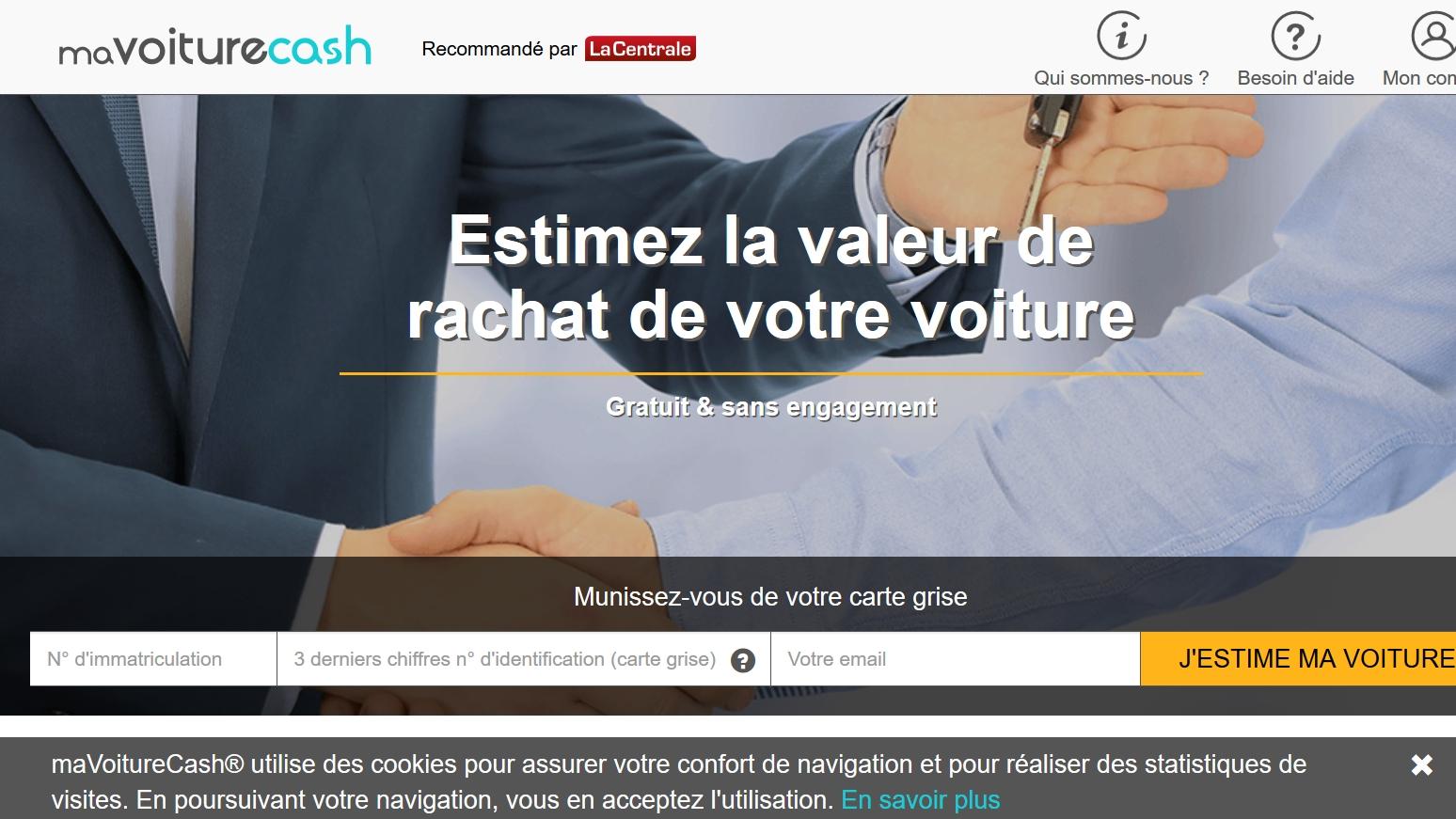 mavoiturecash un nouveau site pour racheter cash votre. Black Bedroom Furniture Sets. Home Design Ideas