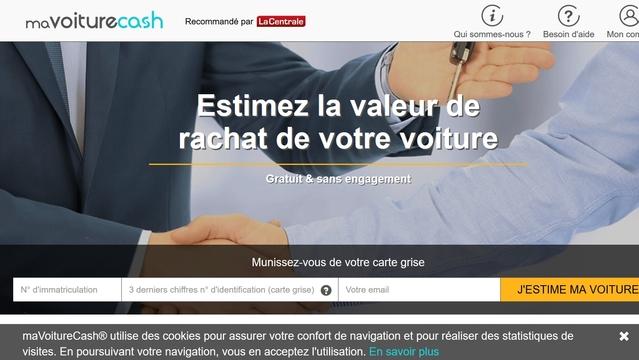 mavoiturecash un nouveau site pour racheter cash votre occasion. Black Bedroom Furniture Sets. Home Design Ideas