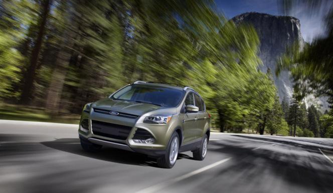 Los Angeles 2011 : nouveau Ford Escape, un gros Kuga mondial