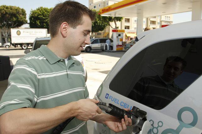 Shell lance une nouvelle station-service à l'hydrogène !